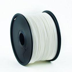 Gembird PLA filament for 3D printer, White 1.75 mm, 1 kg
