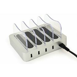 Gembird 4-port USB charging station, 4.1 A