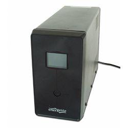 Gembird UPS with LCD display, 1500 VA, black