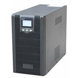 Gembird 3000VA pure sine wave UPS, LCD display, USB, black