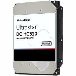 HDD Server WD/HGST ULTRASTAR DC HC520 (3.5'', 12TB, 256MB, 7200 RPM, SATA 6Gb/s, 512N ISE P3), SKU: 0F30144/0F29590