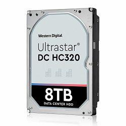 Western Digital Ultrastar DC HDD Server 7K8 (3.5'', 8TB, 256MB, 7200 RPM, SAS 12Gb/s, 512E SE), SKU: 0B36400