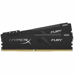 Kingston DRAM 16GB 3200MHz DDR4 CL16 DIMM (Kit of 2) 1Rx8 HyperX FURY Black EAN: 740617296341