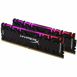 Kingston DRAM 32GB 3200MHz DDR4 CL16 DIMM (Kit of 2) XMP HyperX Predator RGB EAN: 740617289831