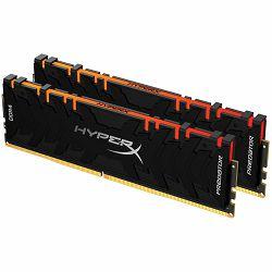 Kingston DRAM 64GB 3200MHz DDR4 CL16 DIMM (Kit of 2) XMP HyperX Predator RGB EAN: 740617310696