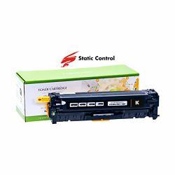 Toner Static Control HP Canon CC530A Black