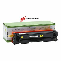 Toner Static Control HP Canon CF402X Yellow
