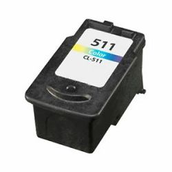 Tinta Static Control Canon CL-511 C, CMY, Color