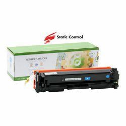 Toner Static Control HP Canon CF411A Cyan