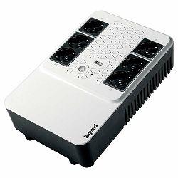 UPS Legrand Keor Multiplug 800VA/480W Line interactive, Single-phase, Simulated sinewave, Backup: 4xCEE 7/3 - Surge: 2xCEE 7/3. Battery 1 x 12 V, 7 Ah, 5.5 Kg, USB