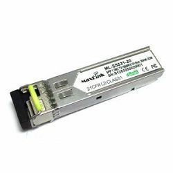 MaxLink 1.25G SFP optical module, WDM BiDi Tx 1550, (LC,SM)-20km