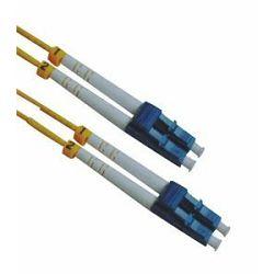 NFO Patch cord, LC APC-LC APC, Singlemode 9 125, G.657A2, 3mm, LSZH, Duplex, 1m