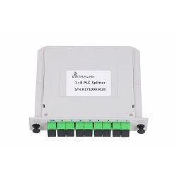 NFO Fiber Optic PLC Splitter, 1:8, Slot Type, SM, SC APC