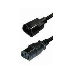 NaviaTec IEC 320 C14 plug - IEC 320 C13 jack 1,5m