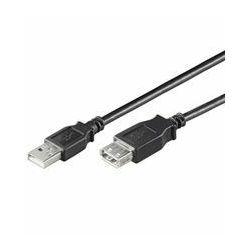 NaviaTec USB 2.0 A Plug to A jack 3m black