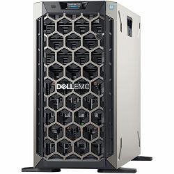 DELL EMC PowerEdge T340 w/8x3.5in, Intel Xeon E-2224(3.4GHz, 8M cache, 4C/4T, turbo (71W)), 16GB 2666MT/s DDR4, 1TB 7.2K RPM SATA 6Gbps 512n 3.5in Hot-plug, PERC H330 RAID, iDrac9 Basic, DVDRW, Single