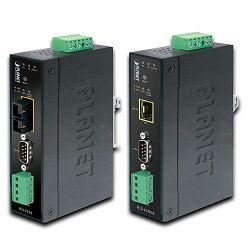 Planet Industrial RS-232 to 100Base-FX Open slot Media Converter (Fiber, Vary on SFP module) (-40~75)
