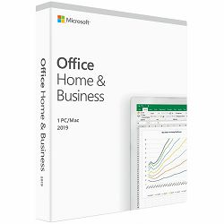 Office Home and Business 2019 English EuroZone Medialess P6