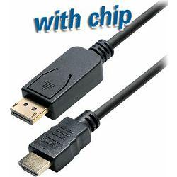 Transmedia DisplayPort plug to DVI 24 1 plug, 2,0 m