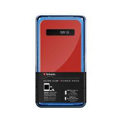 Verbatim prijenosni punjač Power Pack 4200mAh, ultra tanki, crveni