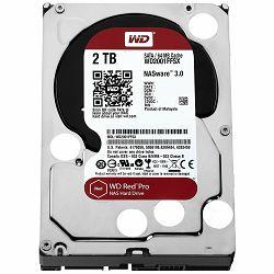 HDD Desktop WD Red Pro (3.5, 2TB, 64MB, 7200 RPM, SATA 6 Gb/s)