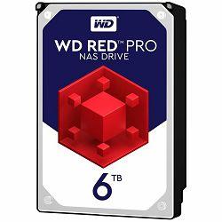 HDD Desktop WD Red Pro (3.5, 6TB, 256MB, 7200 RPM, SATA 6 Gb/s)