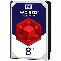 HDD Desktop WD Red Plus (3.5, 8TB, 256MB, 5400 RPM, SATA 6 Gb/s)