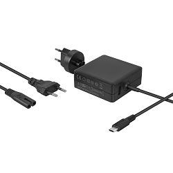 Avacom punjač MacBook, USB Type-C 65W + USB A