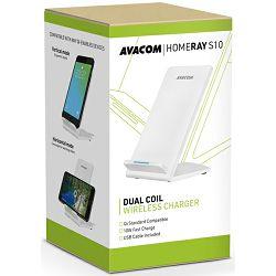 Avacom bežični punjač HomeRAY S10, bijeli