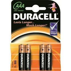 Baterija alkalna 1,5V AAA Basic pk4 Duracell LR03 blister
