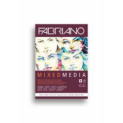 Blok Fabriano mixed media 14,8x21,0 250g 19100502