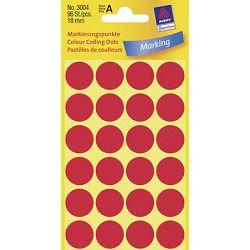 Etikete slep fi-18mm Zweckform 3004 crvene