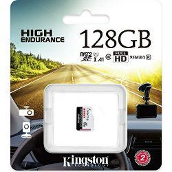 Kingston microSD High End., R95MB/s W45MB/s, 128GB