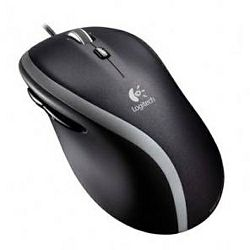 Logitech M500 žičani miš, crni