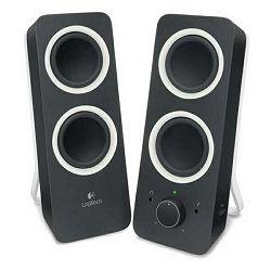 Logitech Z200 2.0 zvučnici, stereo, crna