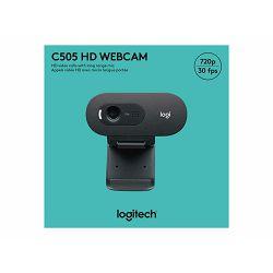 LOGI HD Webcam C505 Black