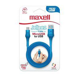 Maxell Jelleez kabel USB-micro USB, 1,2m, 3 kom