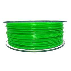 Filament for 3D, PET-G, 1.75 mm, 1 kg, green trans
