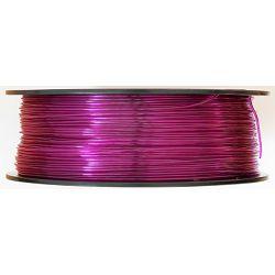 Filament for 3D, PET-G, 1.75 mm, 1 kg, purple tran