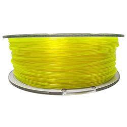 Filament for 3D, PET-G, 1.75 mm, 1 kg, yellow tran