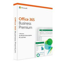 MS O365 Business Standard Cro retail Medialess 1 g