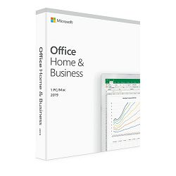 MS Office Home and Business 2019 Eng Medialess