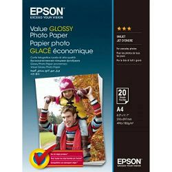 Papir Epson S400035 value glossy photo paper A4 183g 20L