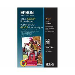 Papir Epson S400037 value glossy photo paper 10x15 183g 20L