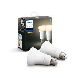 Philips HUE žarulja, E27, topla bijela, 9W, BT, 2x