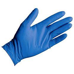 Pribor za čišćenje-rukavice nitril-bez pudera nitrylex classic pk100 plave L